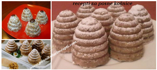 kosnice recept | sitni kolaci koji se ne peku