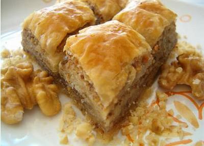 posna baklava sa orasima recept