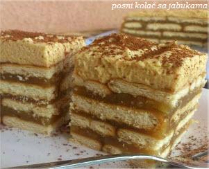 posni kolac sa jabukama recepti