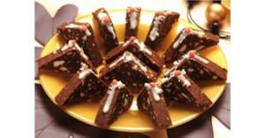 posne toblerone recept
