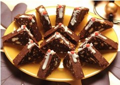 posne toblerone recept | kolaci sa cokoladom